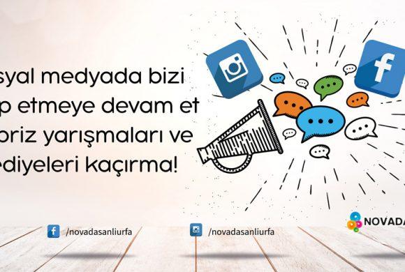 SOSYAL MEDYADA BİZİ TAKİP EDİN!
