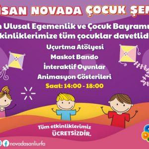 23 Nisan Novada Çocuk Şenliği